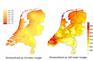 Windsneleheid in Nederland