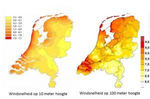 Windsneleheid in Nederland