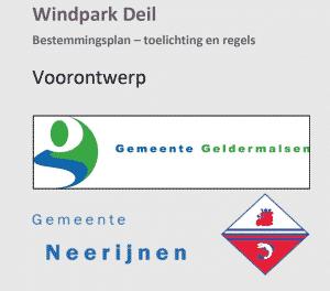 Voorontwerp Bestemmingsplan Windpark Knooppunt Deil tot en met 29 december ter inzage